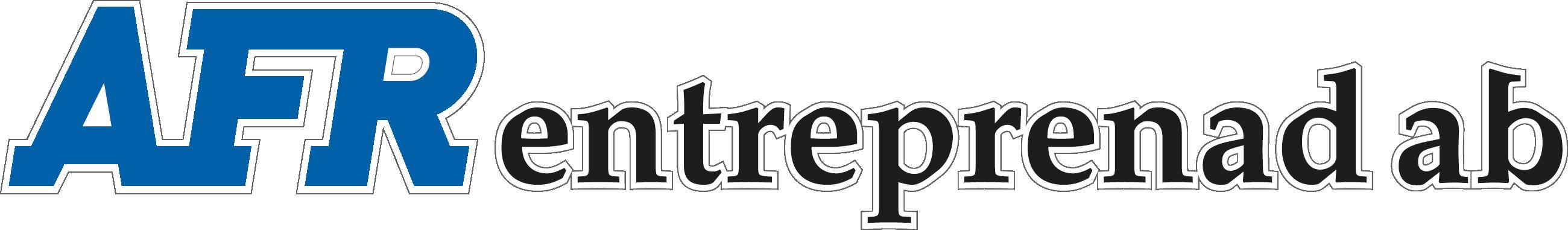 AFR Entreprenad Logotyp